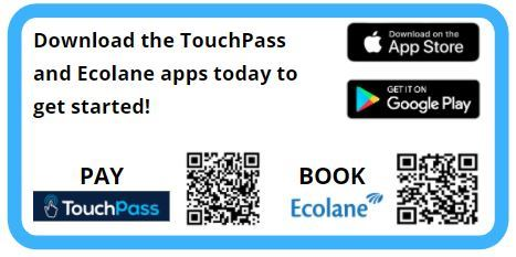Ecolane TouchPass QR codes image for release